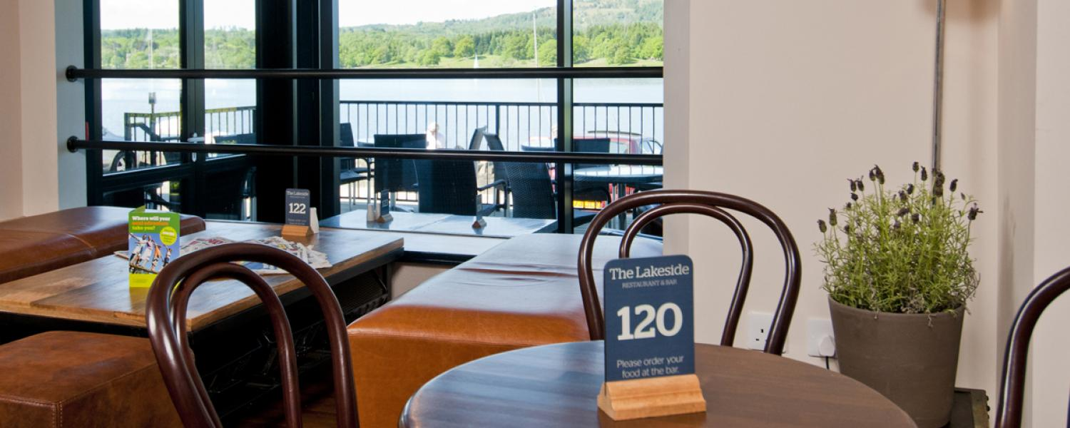 The Lakeside restaurant
