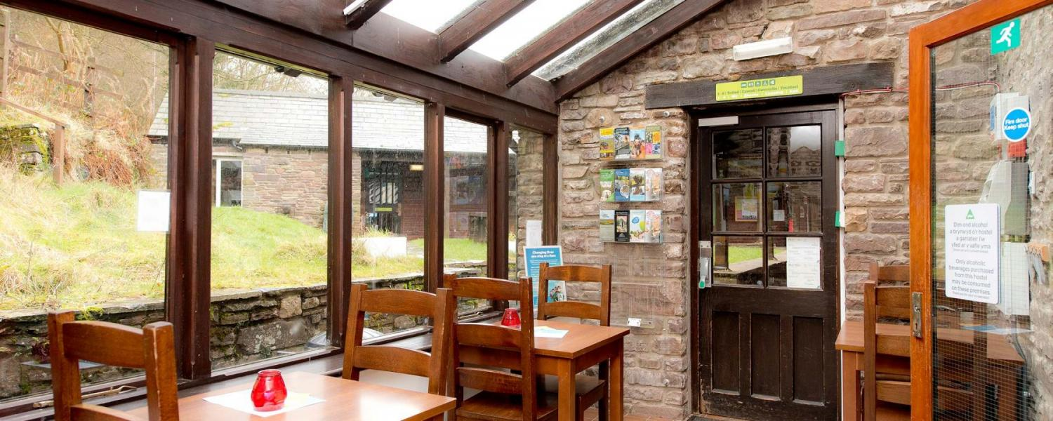 YHA Brecon Beacons Danywenallt dining room