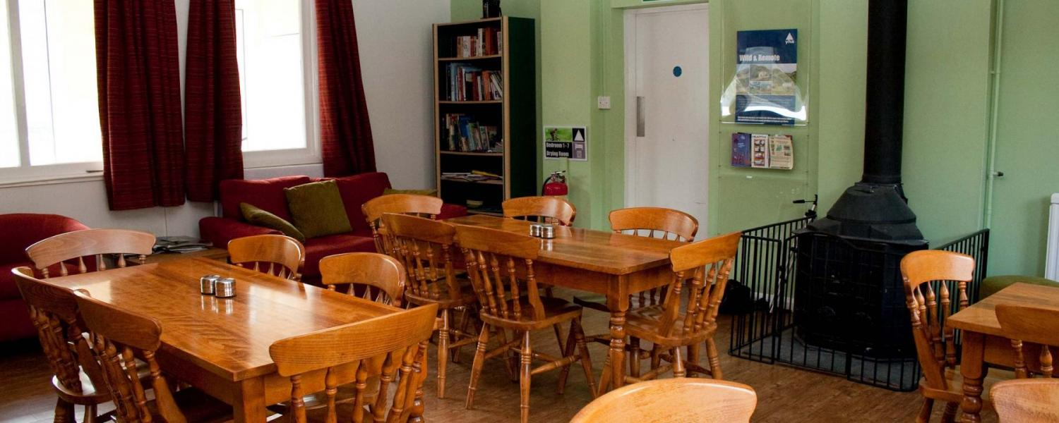 YHA Honister Hause dining room
