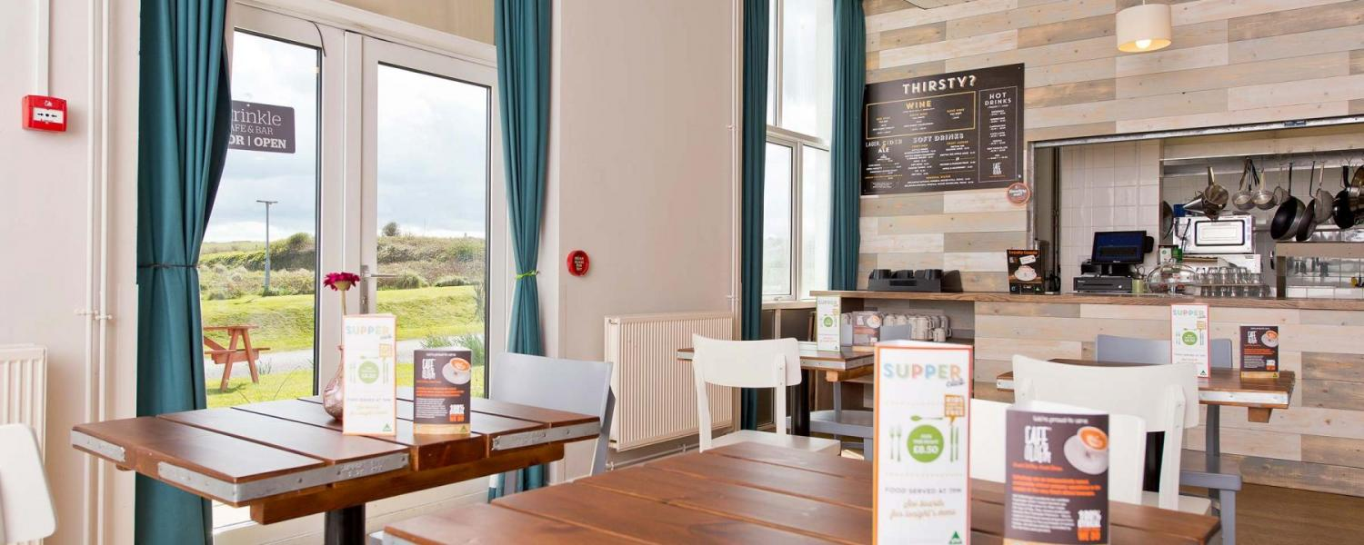 YHA Manorbier cafe