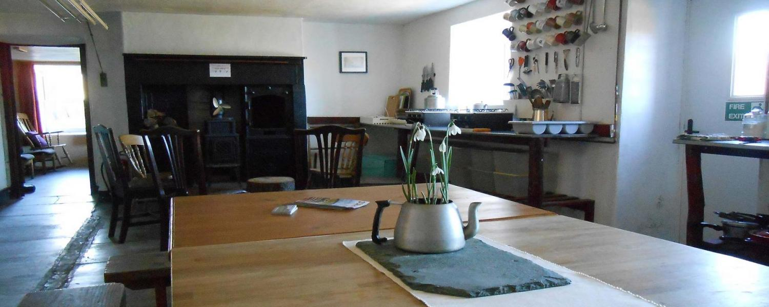 YHA Skiddaw Bunkhouse Dining Room