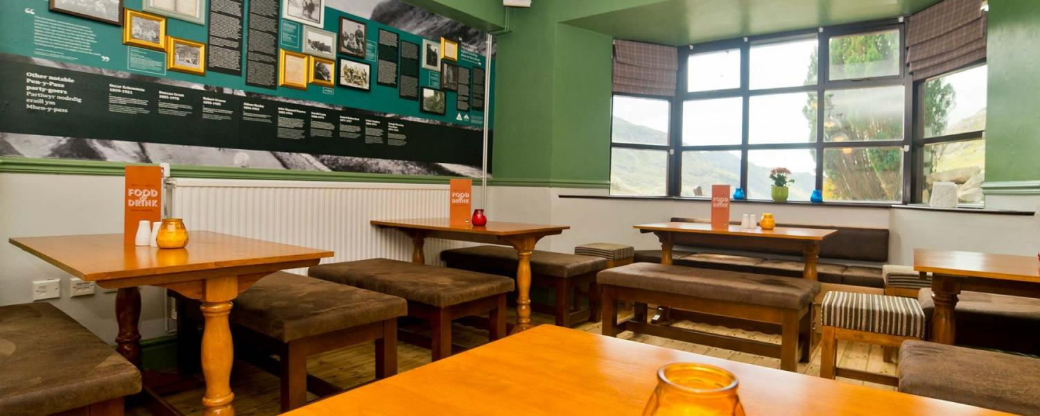YHA Snowdon Pen-y-Pass dining room