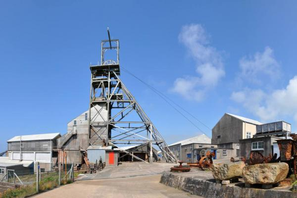 Panorama of a Cornish Mine