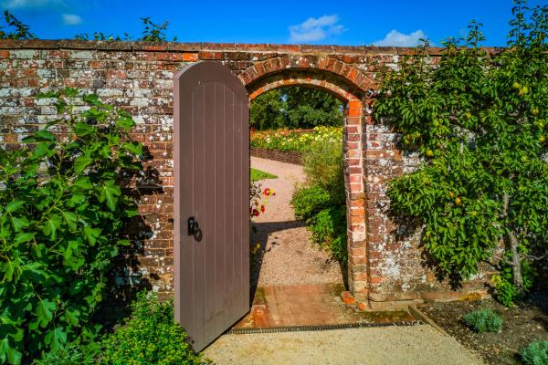 Helmsley Walled Garden through this door in a wall