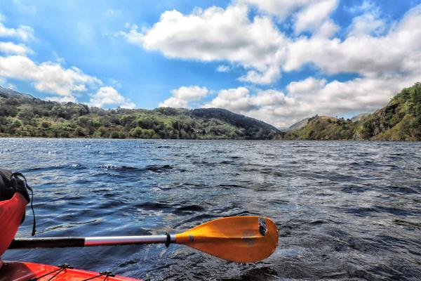 Kayaking in Wales