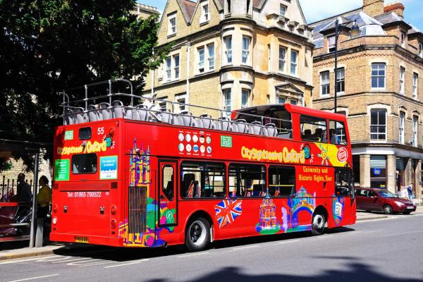 Oxford City Sightseeing Bus