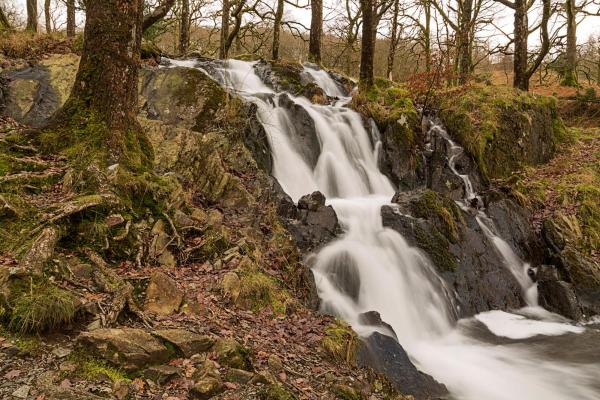 Tom Ghyll (or Gill) waterfalls on way to Tarn Hows