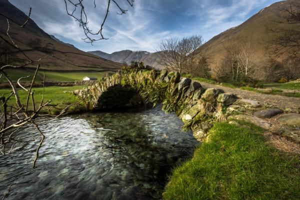 Packhorse Bridge in Wasdale
