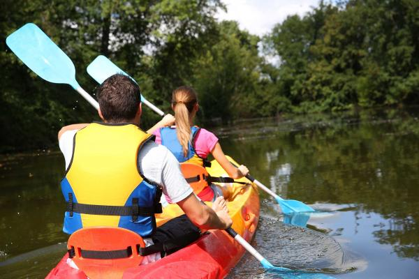 Watersports at YHA Wilderhope Manor