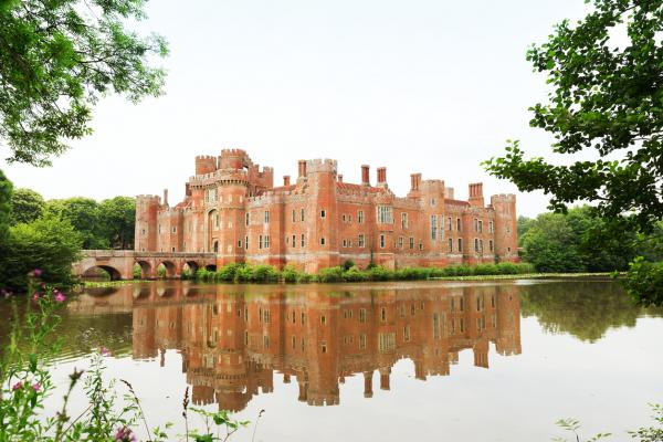 Herstmonceux Castle in Eastbourne