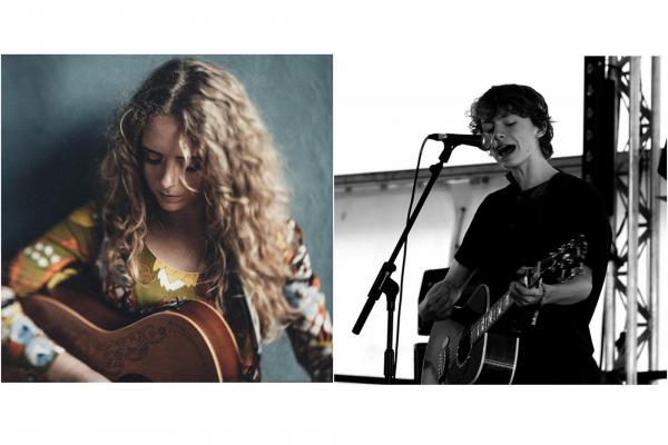 Sadie Horler and Joe Chown at Sunset Sessions
