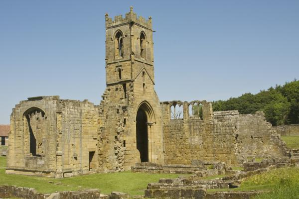 Mount Grace Priory in Osmotherley