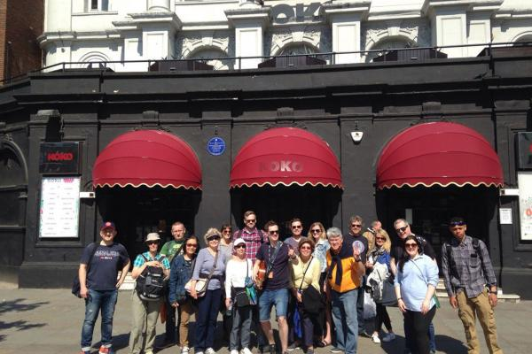 Camden walking tour
