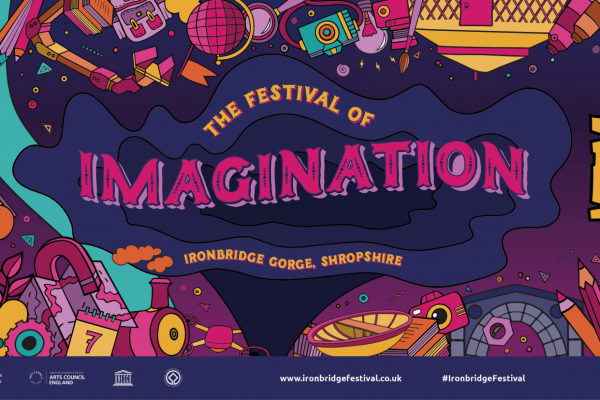 Ironbridge Festival of Imagination banner