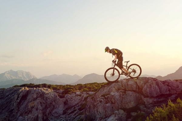 Mountain Biking in the countryside