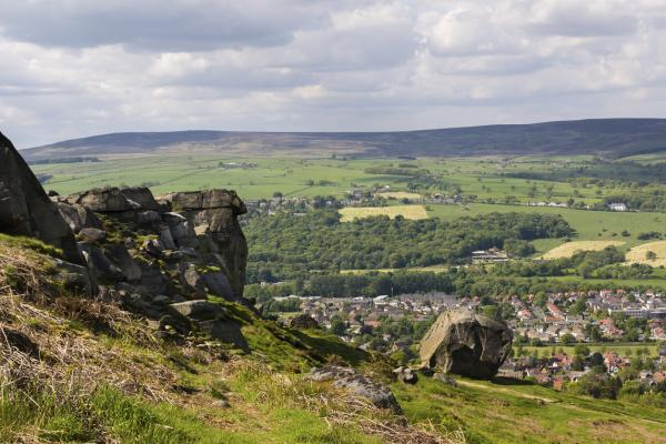 Climbing in Haworth