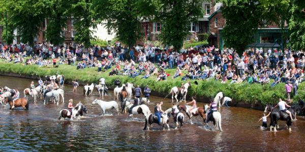 Appleby horse fair, Cumbria