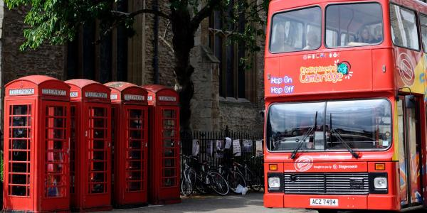 Cambridge City Sightseeing Bus
