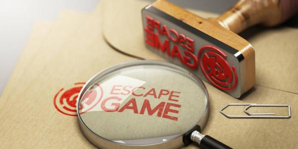 Breakout - Escape Game rubber stamp