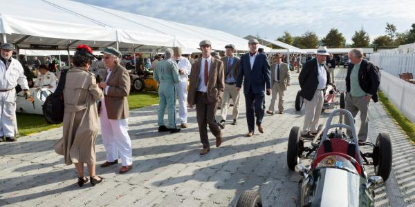 Goodwood Revival in the Paddock
