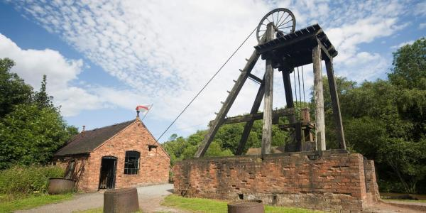 Ironbridge - the Old Mine at Blists Hill