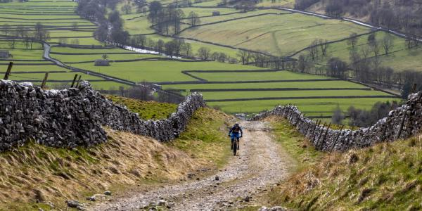 Mountain biking near Kettlewell