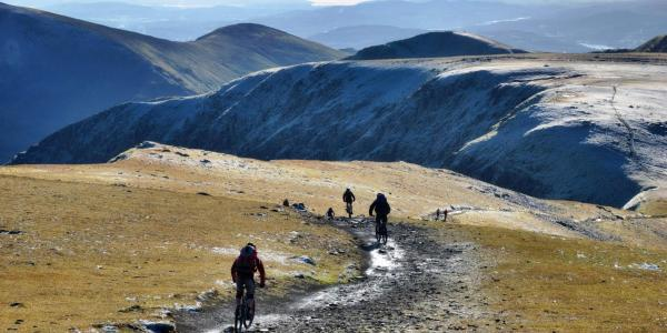 Mountain Biking on the nearby Helvellyn