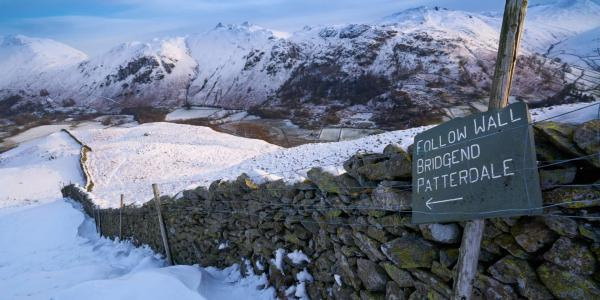 Path to Patterdale in Winter