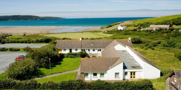 View over YHA Broad Haven