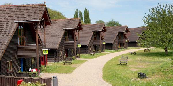 YHA London Lee Valley lodges