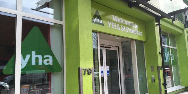 YHA London St Pancras Entrance