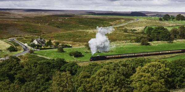 North York Moors Steam Railway in Helmsley