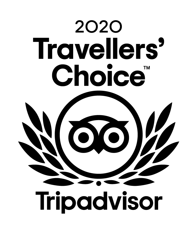 Trip advisor 2020 Travellers Choice award